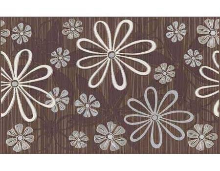 Плитка-декор Brown Kwiatek 1 250x350 (ЦЕНА ЗА 1 ШТ.)