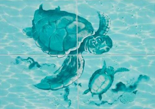 Панно керамическое ПН77Ч 728x498